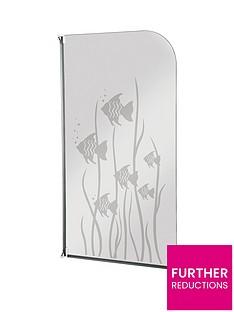 aqualux-half-framed-radius-fish-design-bath-screen