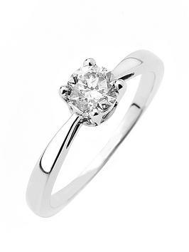 love-diamond-9ct-gold-50-point-diamond-solitaire-ring