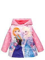 Girls Frozen Raincoat