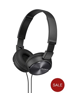 sony-zx310-on-ear-folding-headphones-black