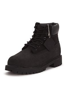 Timberland Premium Classic Older Boys Boots - Black db26f42f6