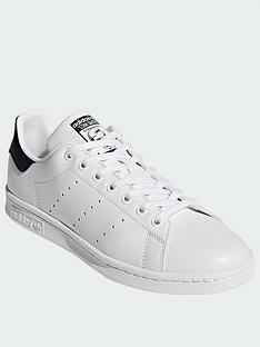 adidas-originals-stan-smith-trainers-whitenavy
