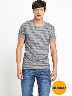 boss-orange-mens-grandad-collar-t-shirt