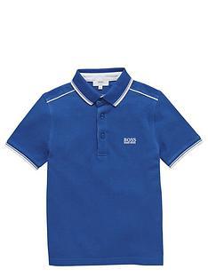 boss-boys-short-sleeve-classic-pique-polo