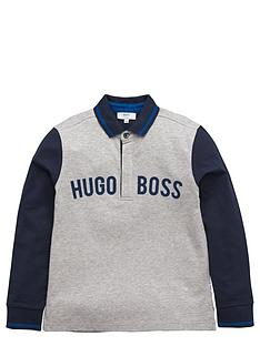 boss-boys-long-sleeve-logo-jersey-polo