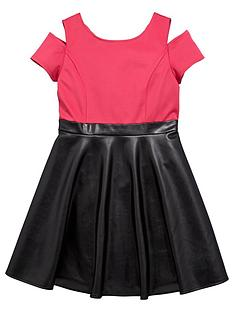 freespirit-girls-pu-skater-skirt-dress