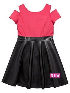 freespirit-girls-pu-skater-skirt-dress