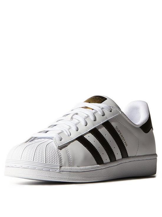 adidas Originals Superstar Trainers - White Black   very.co.uk 56bf1d9a18e1