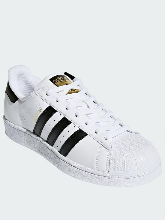 finest selection ce60d 90105 adidas Originals Superstar Trainers - White Black