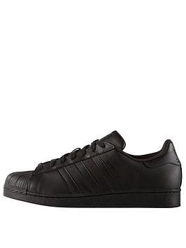 kijvr adidas Originals Superstar Foundation Trainers - Black/White