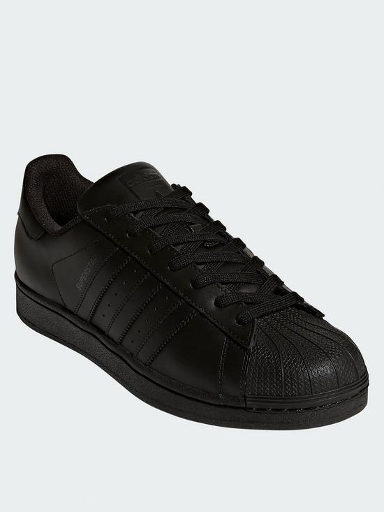 70be4844ee6 adidas Originals Superstar Foundation Trainers - Black