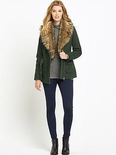 south-oversized-faux-fur-belted-coatnbsp