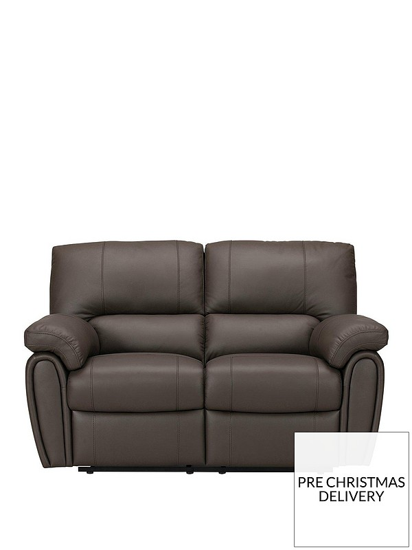 Marvelous Leighton Leather Faux Leather 2 Seater Power Recliner Sofa Machost Co Dining Chair Design Ideas Machostcouk