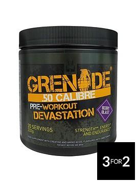 grenade-50-calibre-pre-workout-energy-boost-powder-232g-berry-blast