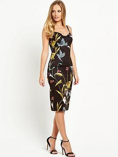 ted-baker-cut-out-mini-bodycon-dress