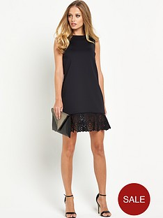 ted-baker-full-frill-hem-skirt-dress
