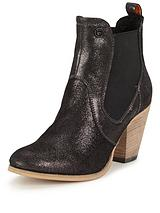 Superdry Luger Heeled Chelsea Ankle Boot