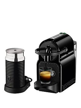 nespresso inissia and aeroccino 3 coffee machine by magimix black. Black Bedroom Furniture Sets. Home Design Ideas