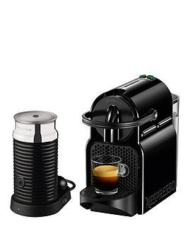 nespresso inissia and aeroccino 3 coffee machine by magimix black verycouk - Nespresso Aeroccino