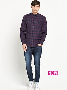 lyle-scott-lyle-amp-scott-flannel-over-shirt