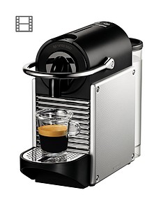 Nespresso Pixie Coffee Machine by Magimix - Aluminium