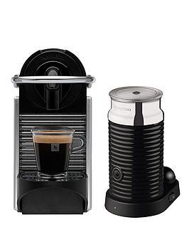 nespresso-pixie-coffee-machine-by-magimixnbspwith-aeroccino-3-milk-frother-aluminium
