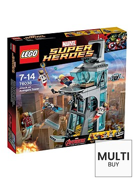lego-super-heroes-super-heroes-attack-on-avengers-tower-amp-free-lego-city-brickmaster