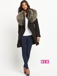 oasis-faux-fur-collar-coat