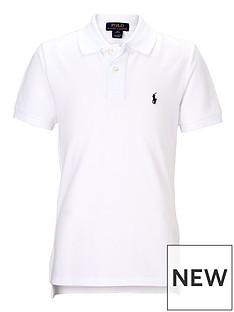 96812f6dc7765 Ralph Lauren Boys Classic Polo Shirt - White