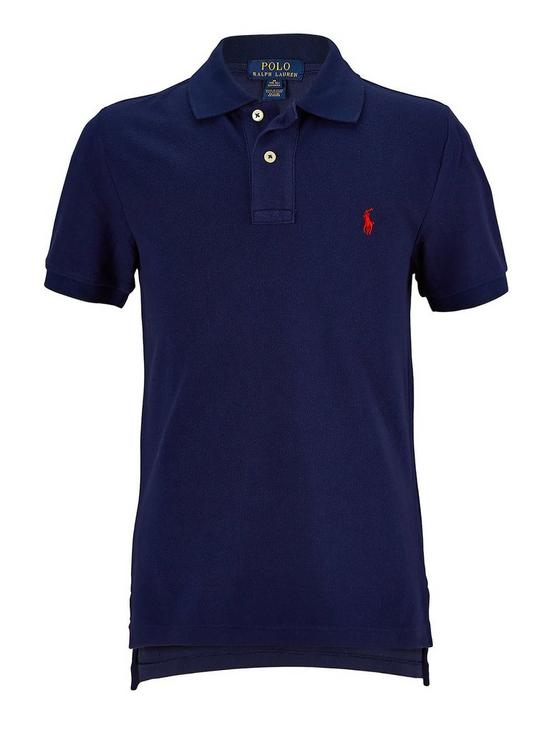 Shirt Classic Boys Polo Navy French OPZXiTku