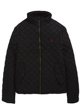 Ralph Lauren Ralph Lauren Quilted Jacket-Black