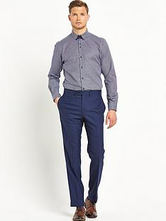 remus-uomo-tapered-gingham-mens-shirt-ndash-navy