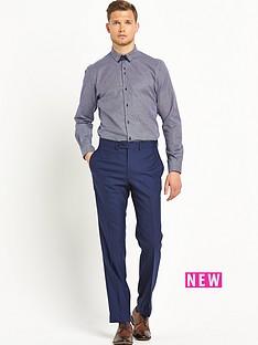 remus-uomo-tapered-gingham-mens-shirt-ndash-navy
