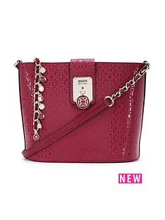 guess-guess-rosalind-crossbody-bucket-bag-claret