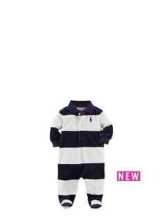 ralph-lauren-velour-striped-sleepsuit