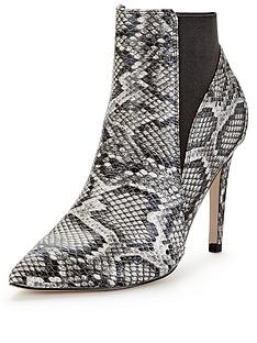 lipsy-bailey-snake-print-heeled-ankle-boot