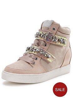 lipsy-jewelled-high-top-trainers
