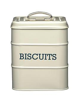 kitchencraft-antique-biscuit-tin-cream