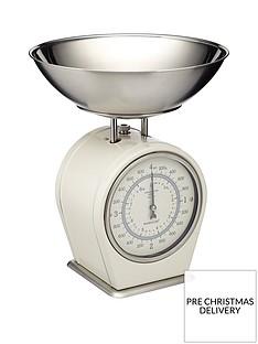 kitchencraft-antique-mechanical-scales-cream