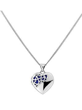 keepsafe-sterling-silver-blue-inset-heart-scroll-locket
