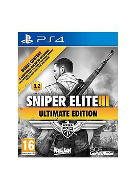 playstation-4-sniper-elite-3-ultimate-edition