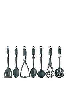 masterclass-soft-grip-stainless-steel-7-piece-utensil-set