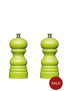 master-class-12cm-capstan-mills-set-of-2-green
