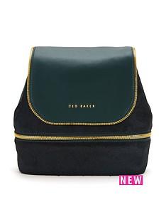ted-baker-ted-baker-textured-leather-backpack-dark-green
