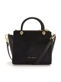 ted-baker-textured-leather-crossbody-tote-bag