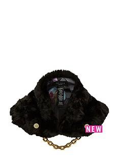 ted-baker-faux-fur-collar-black