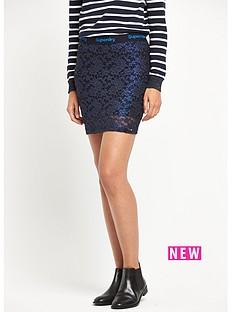 superdry-lacy-foil-mini-skirt