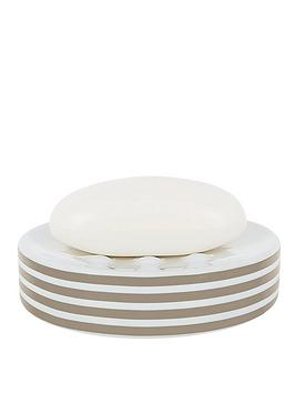 spirella-tubes-stripes-soap-dish-taupe