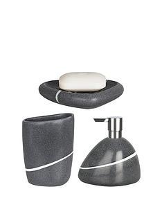 grey bathroom accessories uk