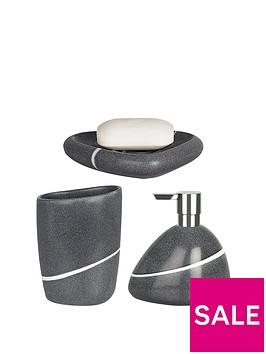 spirella-etna-set-of-3-bathroom-accessories-stone